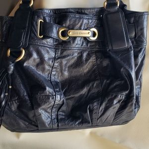 Juicy Couture Distressed Leather